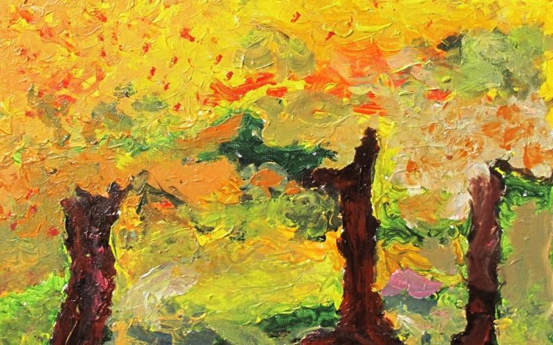 Jesienna abstrakcja